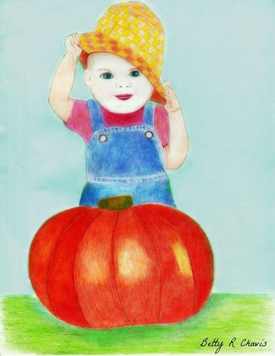 pumpkin baby - Chavis Art