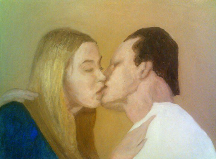 The Kiss - Peterpaints