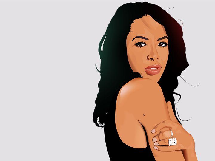 Aaliyah - _Stewart Zellars - Gallery