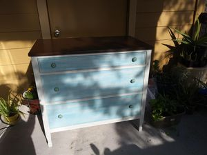 Vintage Up Cycled 3 drawer dresssr