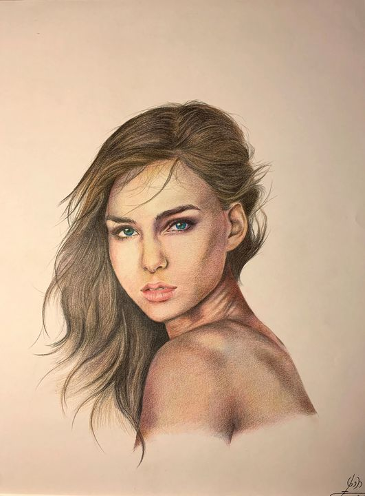 Girl - Melika Kelley Art