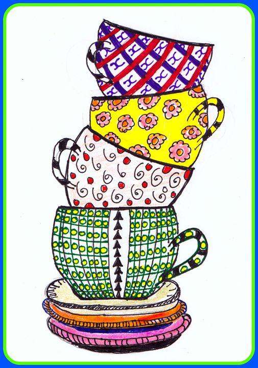 Cups - Anna K. leon Books and Design