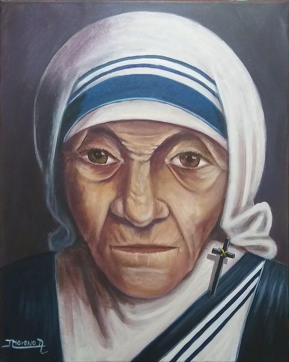 Madre Teresa De Calcuta - JL Moreno art