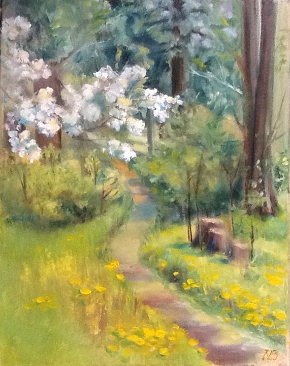 The path into the forest - Natalia