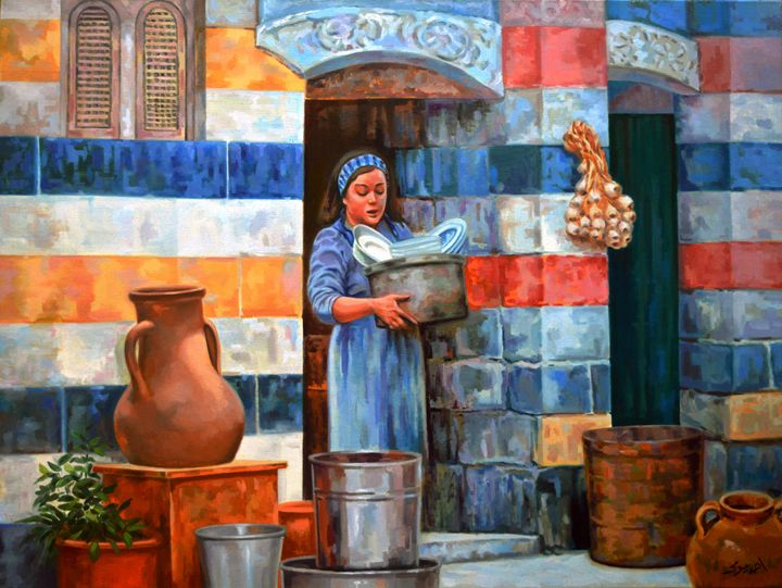 Syrian house - Ahmed Bayomi Arts