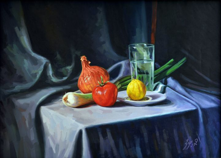 Still Life 01 - Ahmed Bayomi Arts