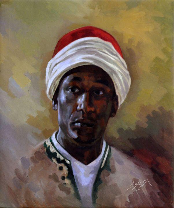 Egyptian Oriental Portrait 01 - Ahmed Bayomi Arts