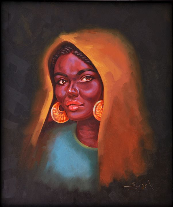 Egyptian Beauty - Ahmed Bayomi Arts
