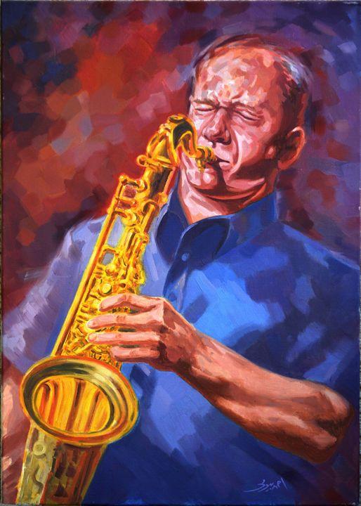 Sax Artist Player - Ahmed Bayomi Arts
