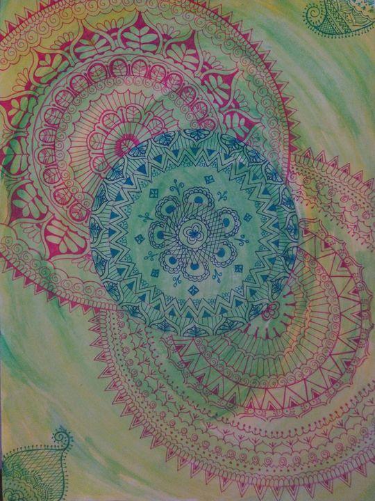 Mandala of dreams - Serene mayhem