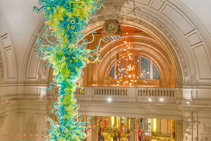 Glass sculpture by Dale Chihuly - Christopher William Adach Photography