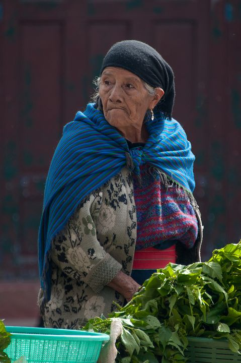 Mayan woman on the market - Christopher William Adach Photography