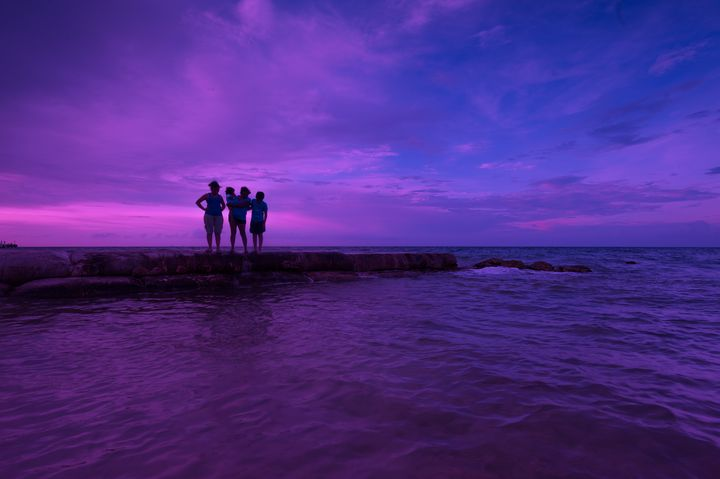 Purple sunrise - Christopher William Adach Photography