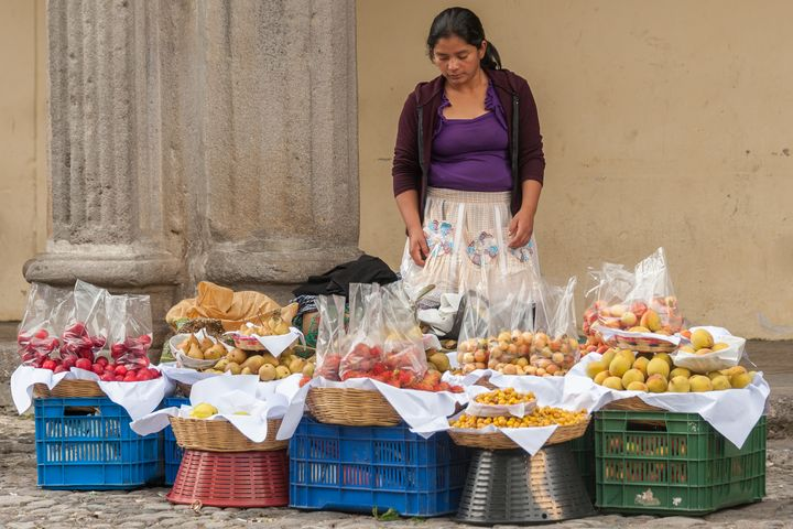 Fruit seller - Christopher William Adach Photography