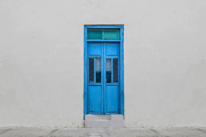 Blue doors - Christopher William Adach Photography