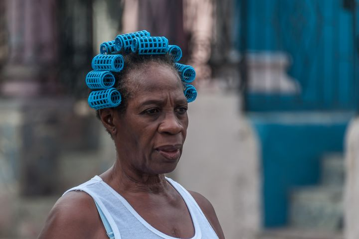 Blue curlers - Christopher William Adach Photography