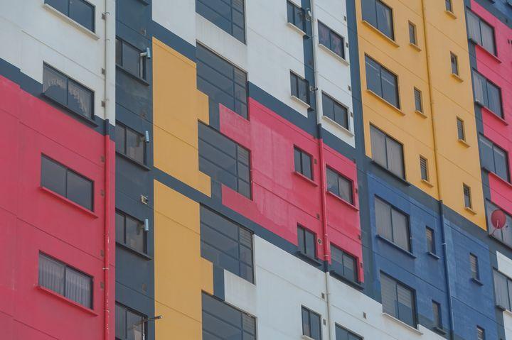 Mondrian in La Paz - Christopher William Adach Photography