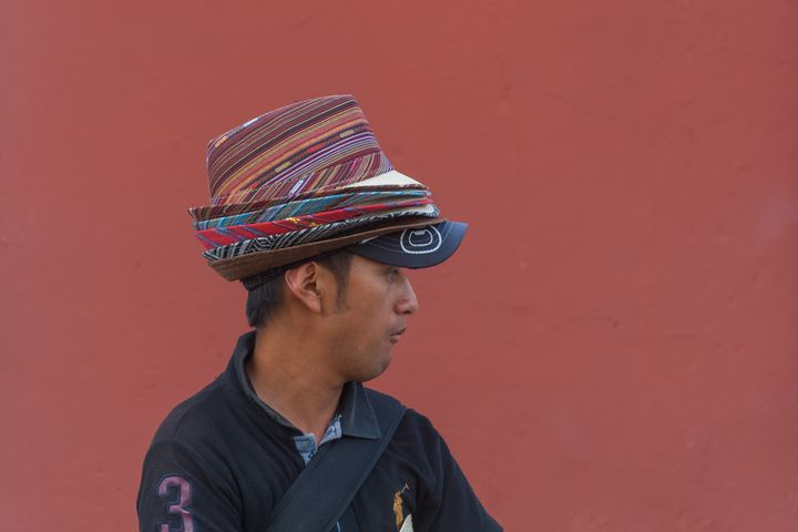 Man with hats - Christopher William Adach Photography