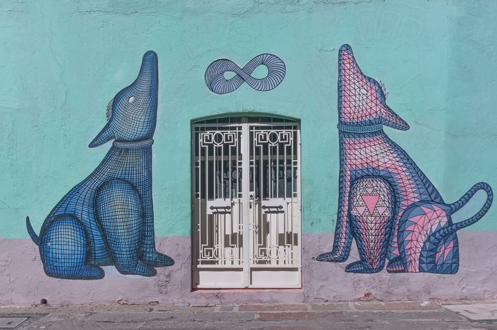 The doors and the guardian dogs - Christopher William Adach Photography