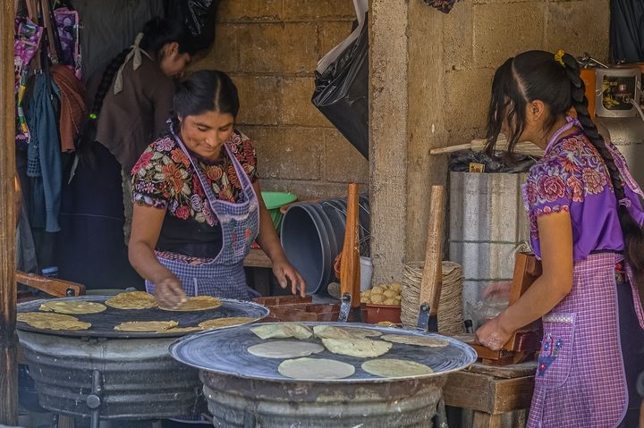 Making tortilla - Christopher William Adach Photography