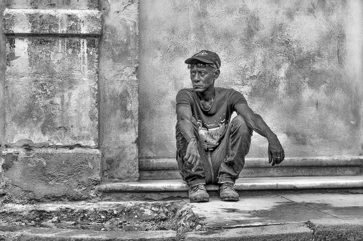 Portrait of a old man - Christopher William Adach Photography