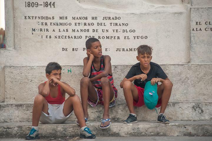 Boys in Havana - Christopher William Adach Photography
