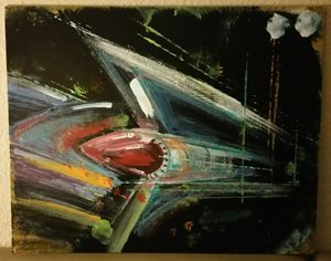 Abstract '59 Cadillac