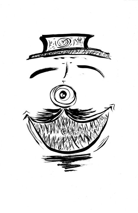 Piranha smiley - Adamstawiarski