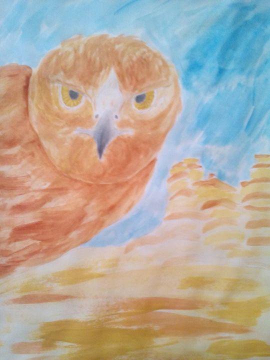 The Watcher - Samuel Parry's Art