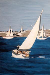 #Sailing on #SanFran Bay