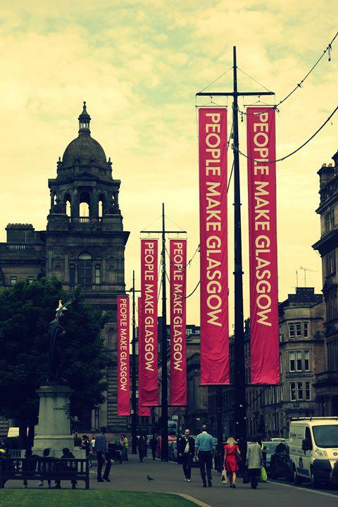 People Make #Glasgow - Vinnies