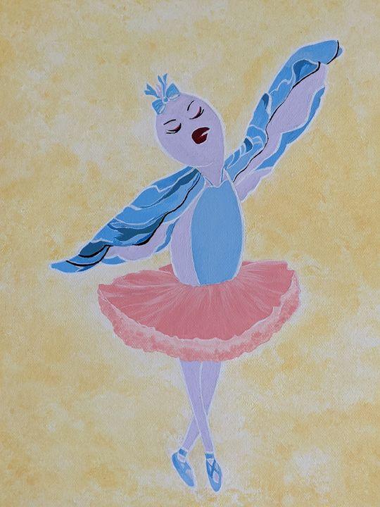 #Dancing bird - #Ballet - FiveOz Creations