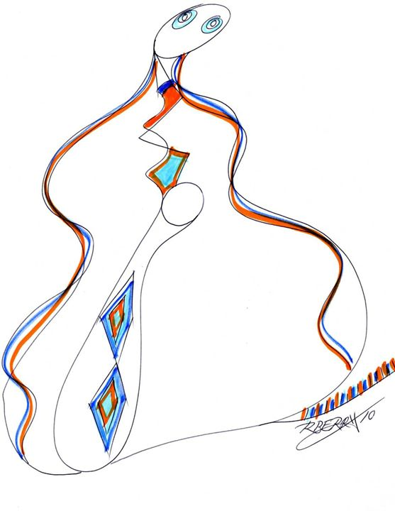 Sassy Sax - JazzXpressionstudio Art