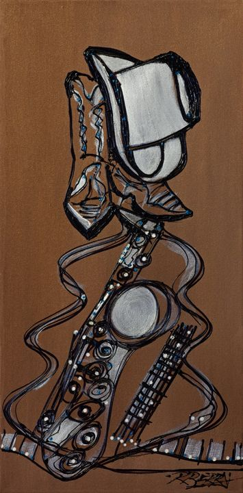 Cowboy Jazz - JazzXpressionstudio Art