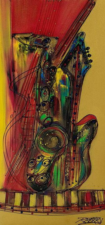 My Sax My Way - JazzXpressionstudio Art