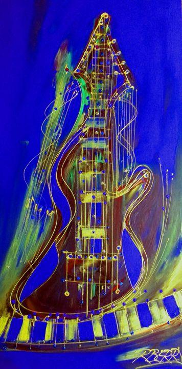Blues Jazz - JazzXpressionstudio Art