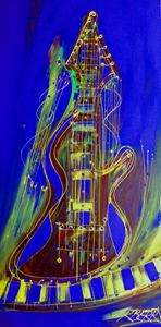 Blues Jazz - JazzXpressionstudio Art