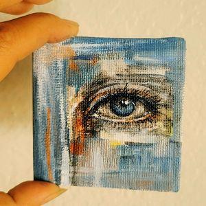"""Observe carefully"", Magnet Canvas,"