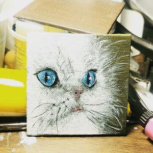 Refrigerator Magnet Kitty I