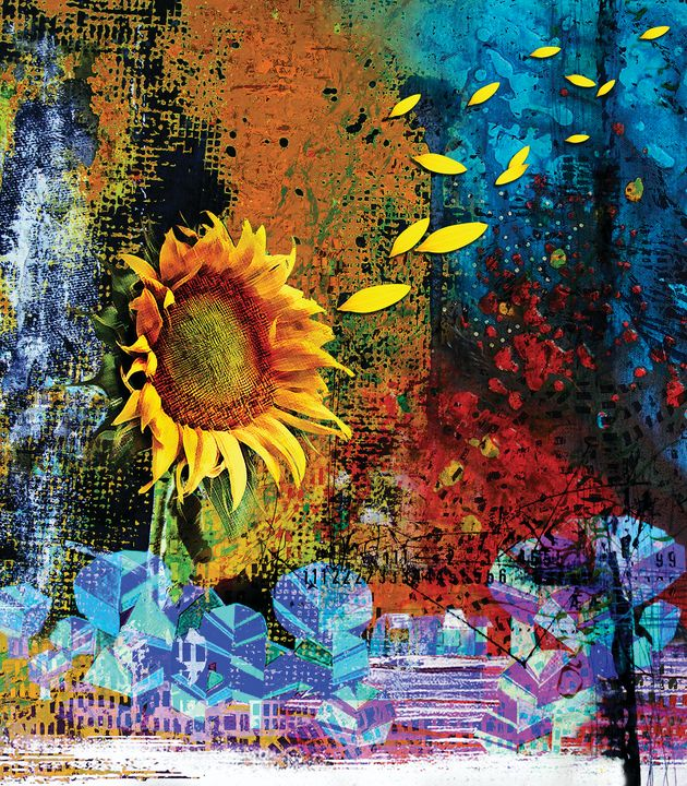 Sunflower - Graphixo