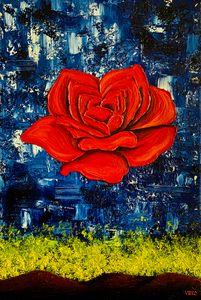 The Meditative Rose