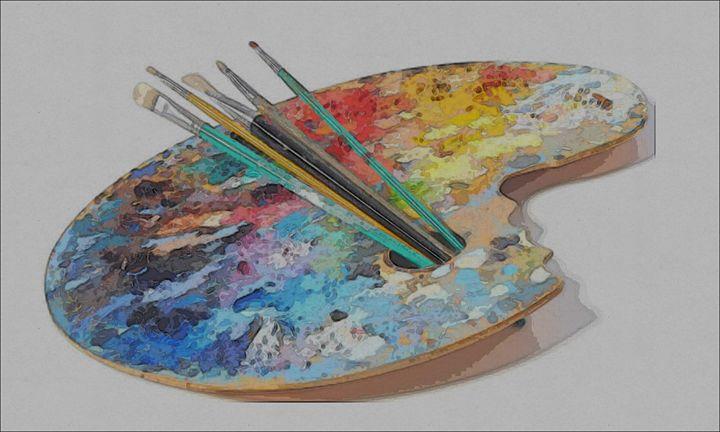 paint pallet - PringletonTown