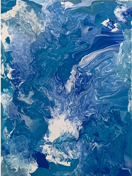 Movement in Blue - Avery Clark
