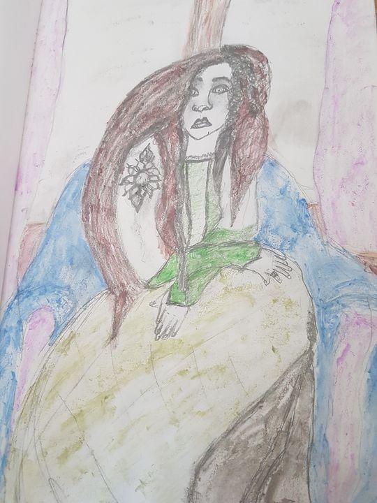 Lady in the green dress - darksunsine1997