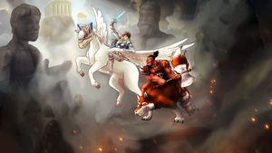 Battle among Gods