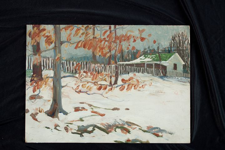 Last Hold of Leaves - Thomas H Wiebell, Cincinnati Icon