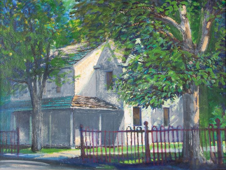 Springtime at the Old House - Thomas H Wiebell, Cincinnati Icon