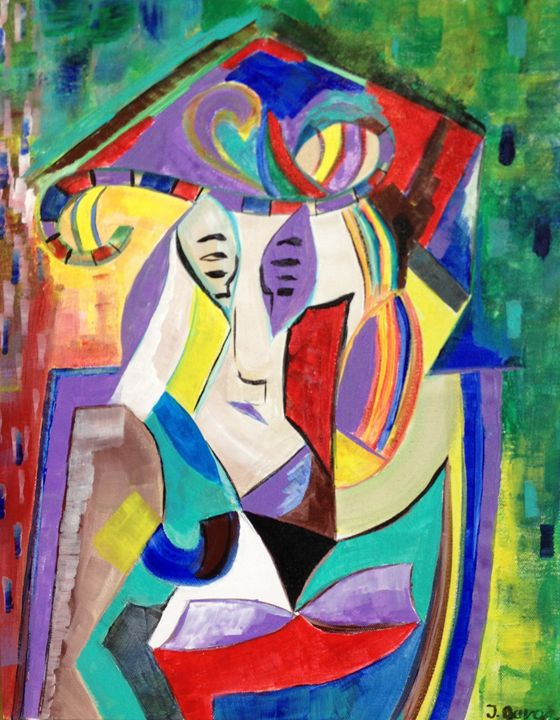 Faces of Color - Jozsef Burge Gallery