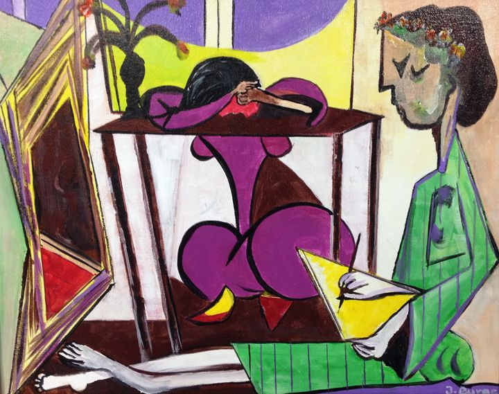 Picasso by Jozsef Burge - Jozsef Burge Gallery