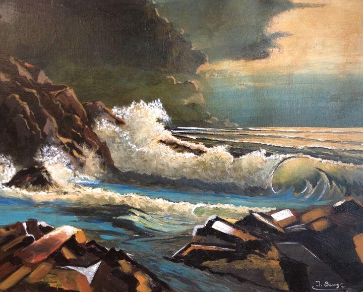 Beauty of the Sea - Jozsef Burge Gallery